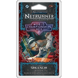 2015 Android: Netrunner World Champion Runner Deck