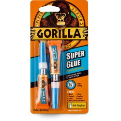 Gorilla Super Glue 3g x 2 Tube
