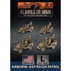 Airborne Jeep Recon Patrol