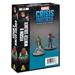 Marvel Crisis Protocol - Vision & Winter Soldier Character Pack