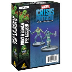 Marvel Crisis Protocol - Drax and Ronan The Accuser Character Pack