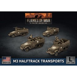 M3 Halftrack Transport Platoon