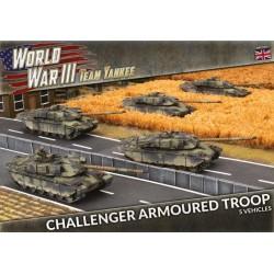 Challenger Armoured Troop (Plastic)