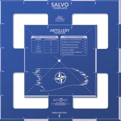 Team Yankee Salvo Template - NATO Edition