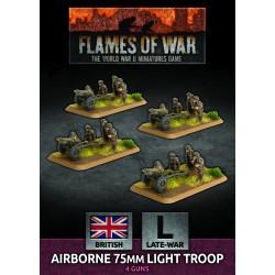 Airborne 75mm Light Troop (Plastic)