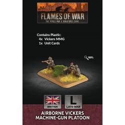 Airborne Vickers Machine-gun Platoon