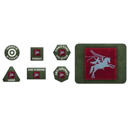 6th Airborne Tokens (x20) & Objectives (x2)