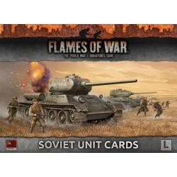 Soviet Unit Cards : Late War