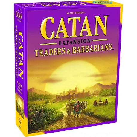 Settlers of Catan Traders & Barbarians Game Expansion