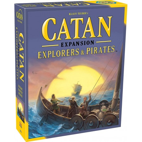 Settlers of Catan Explorers & Pirates Game Expansion