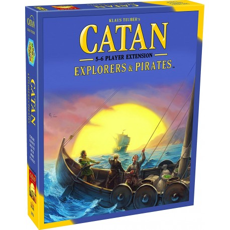 Settlers of Catan Explorers & Pirates 5 - 6 Player Extension