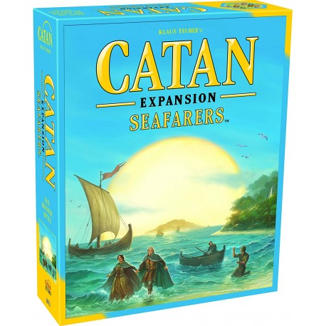 Settlers of Catan Seafarers Game Expansion