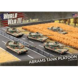 M1a1 Abrams Tank Platoon
