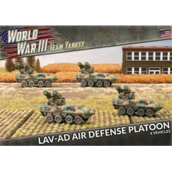 LAV-AD Air Defense Platoon
