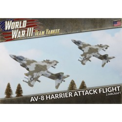AV-8 Harrier Attack Flight (Plastic)