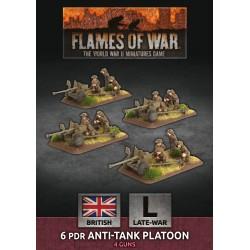 6 pdr Anti-Tank Platoon