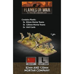 82mm and 120mm Mortar Company