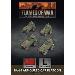BA-64 Armoured Car Platoon