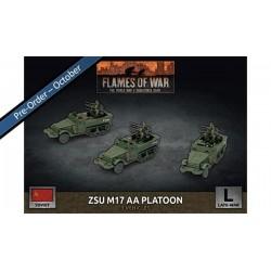 ZSU M17 Anit-Aircraft Platoon