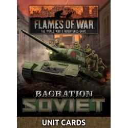 Bagration Soviet Unit Cards