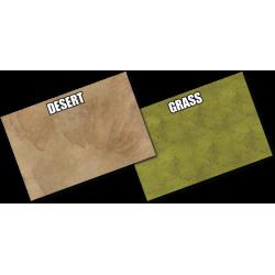 Grassland and Desert Gaming Mat