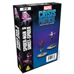 Marvel Crisis Protocol - Ghost-Spider and Spider-Man