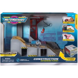 Micro Machines Construction Playset