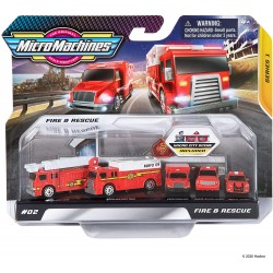 Micro Machines World Packs - Fire & Rescue