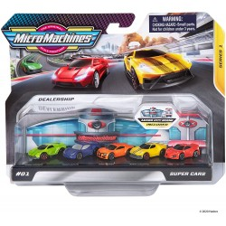 Micro Machines World Packs - Super Cars