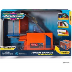 Micro Machines Car Tuner Garage Station Playset