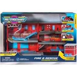 Micro Machines Fire and Rescue Playset