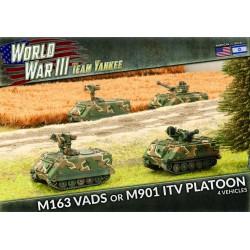 M163 VADS or M901 ITV Platoon