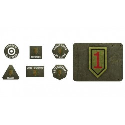 1ST Infantry Division Tokens and Objectives