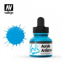 Light Blue Artist Ink