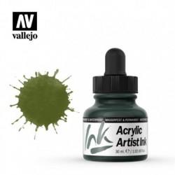 Olive Green Artist Ink