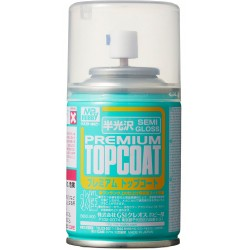 Mr. Premium Topcoat Semi Gloss