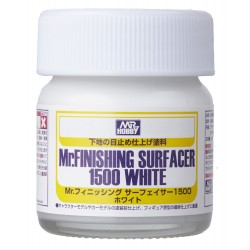 Mr. Finishing Surfacer White 1500 (Brush)