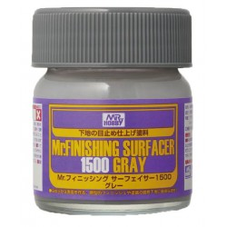 Mr Finishing Surfacer Gray 1500 (Brush)