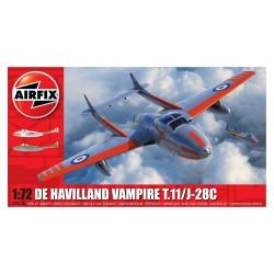 deHavilland Vampire T.11 / J-28C 1:72