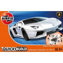 QUICKBUILD Lamborghini Aventador white