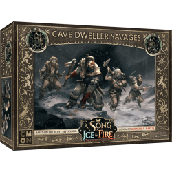 A Song of Ice & Fire: Tabletop Miniatures Game – Cave Dweller Savages