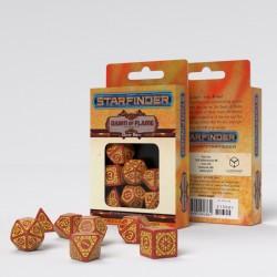 Starfinder Dawn of Flame Dice Set (7)