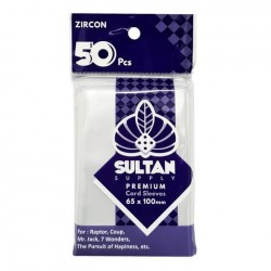 Sultan Card Sleeves: ZIRCON
