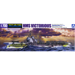 BRITISH AIRCRAFT CARRIER HMS VICTORIOUS